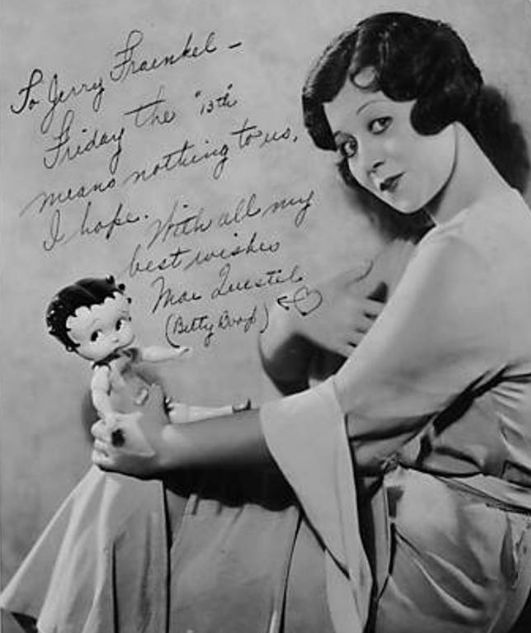 Mae Questel ( September 13, 1908 – January 4, 1998) Was An American Actress And Vocal Artist Best Known For Providing The Voices For The Animated Characters, Betty Boop And Olive Oyl.