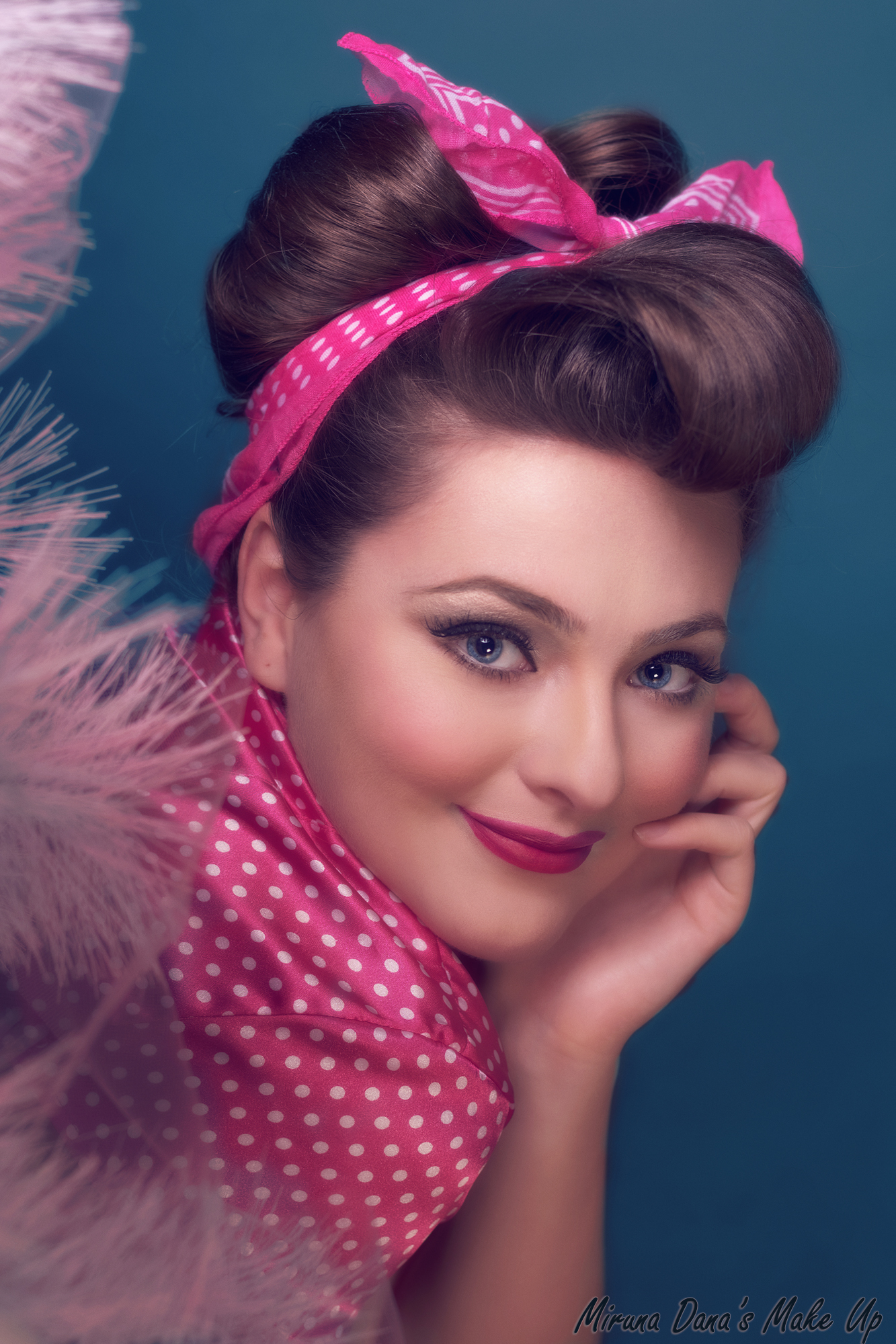 50s Makeup Style For Irina