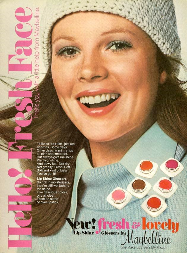 From 'Teen, May 1975. I believe that this is a very young Kim Basinger.