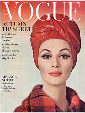 Vintage Vogue August 1962 - Wilhemina
