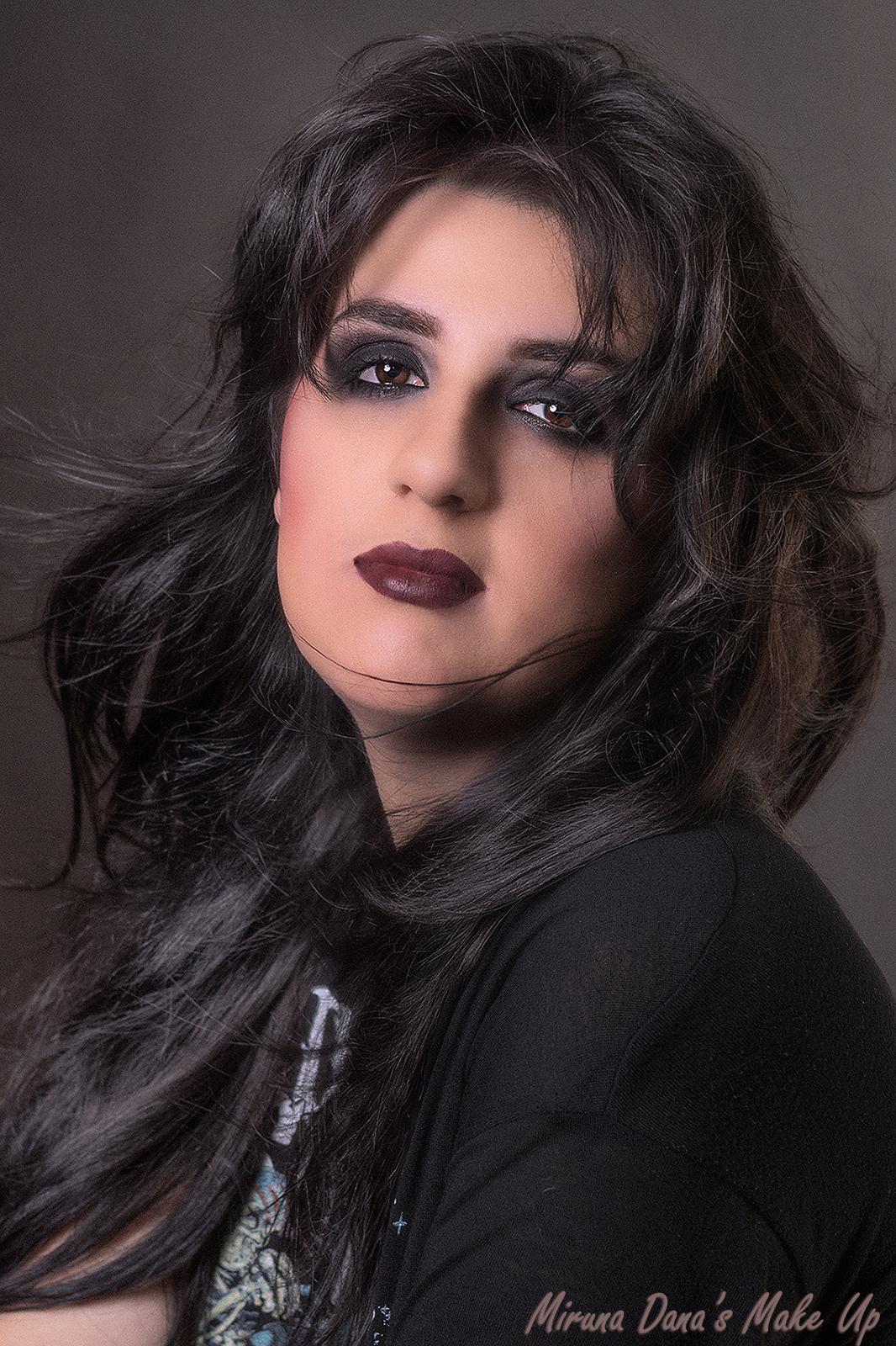 Gotic Rock Makeup