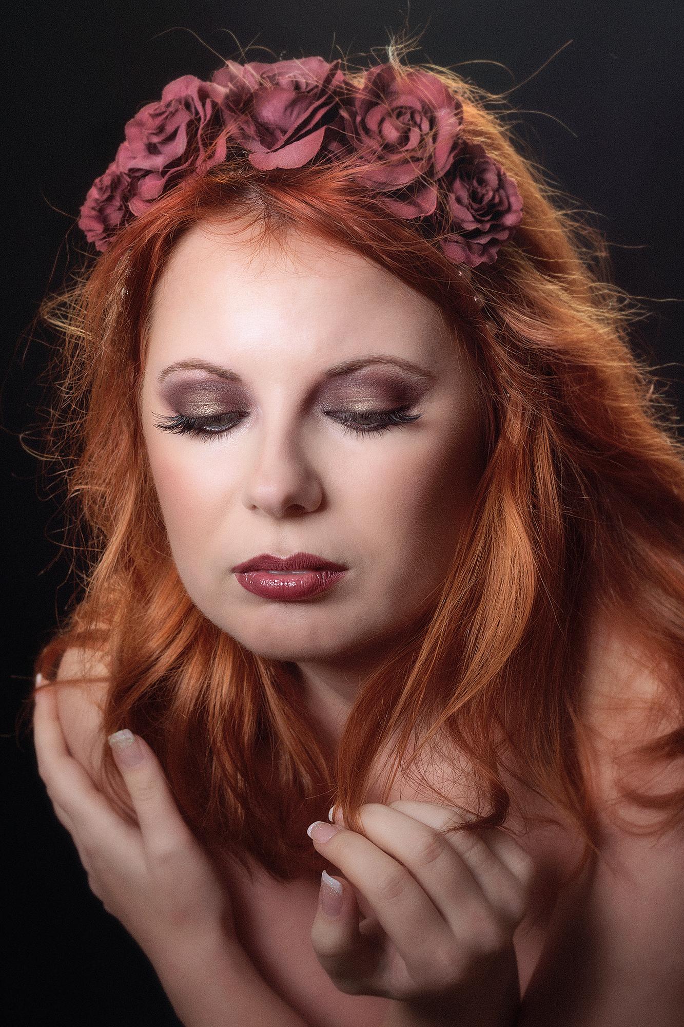 Marsala Makeup 1