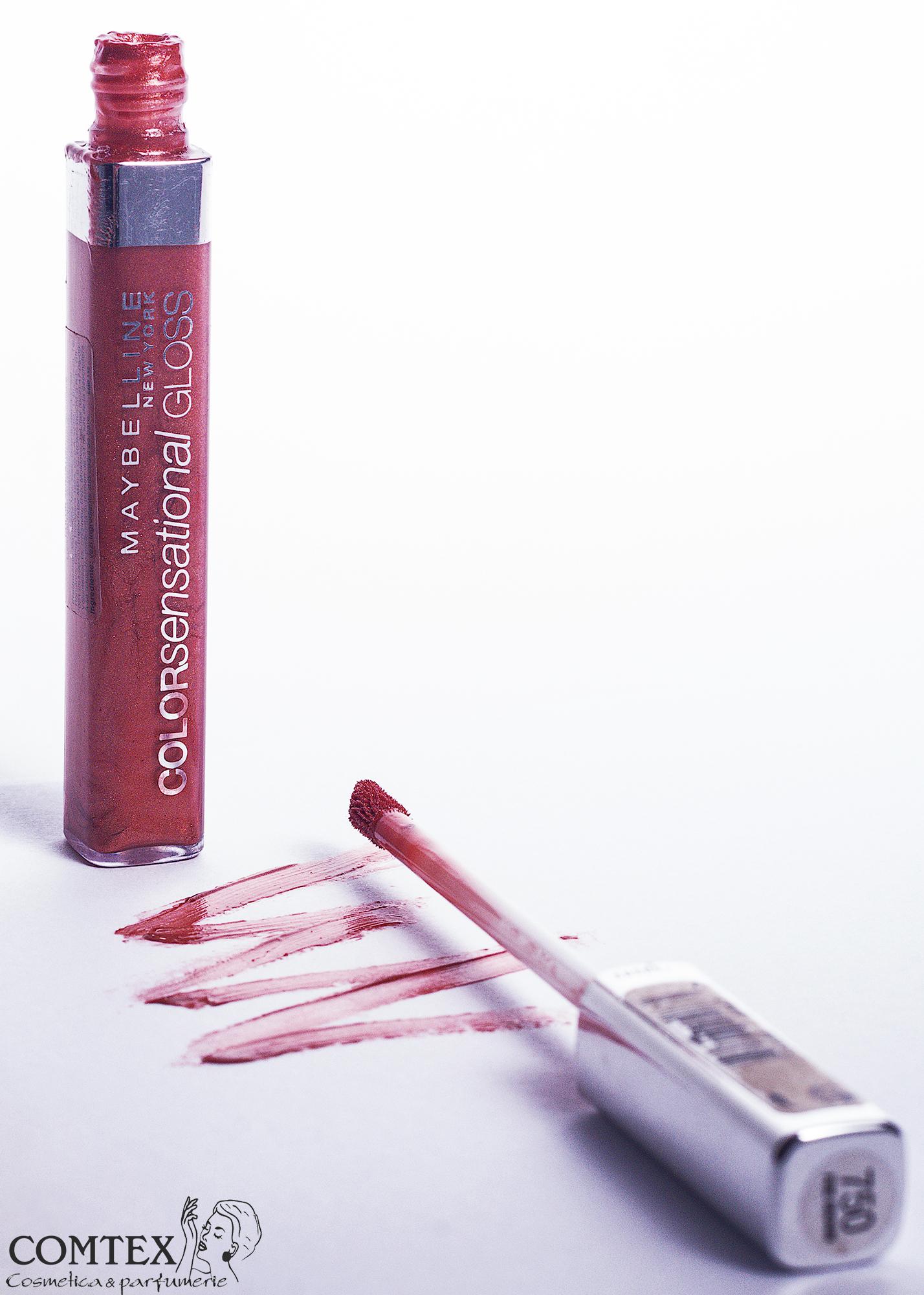 Iata Si Un Gloss, Pentru Cele Care Prefera O Textura Mai Lejera Si Lucioasa, De La Maybelline, Gloss Color Sensational Cream, NR. 750