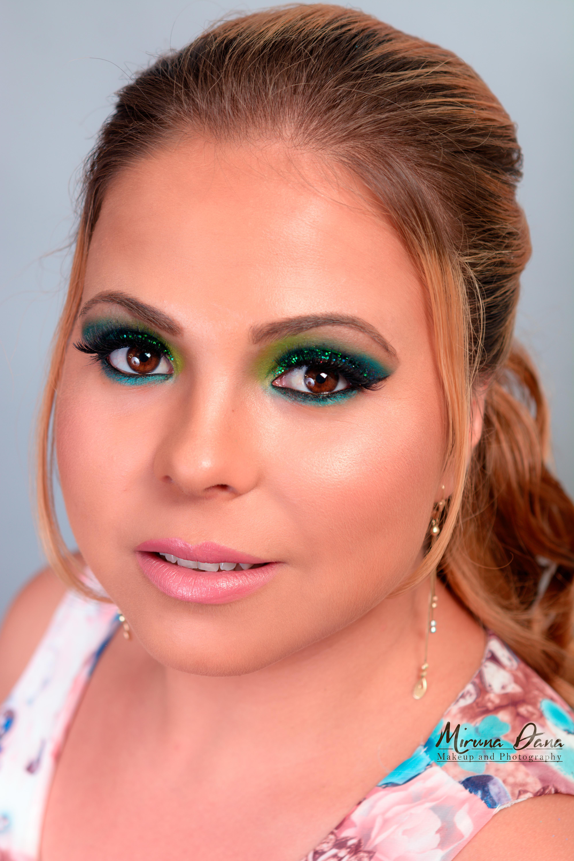glittere verzi