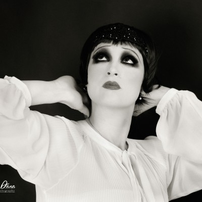 1920S MAKEUP STYLE FOR OANA